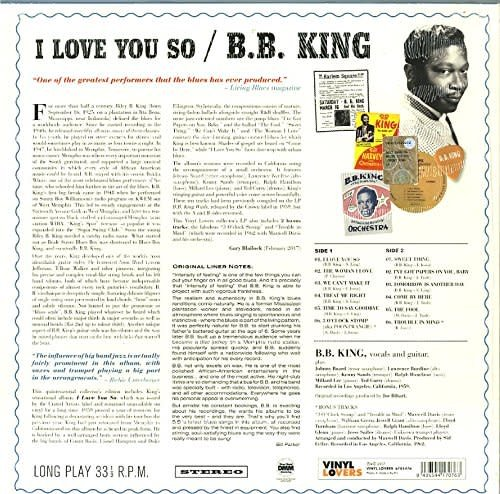 B.B. King - I Love You So