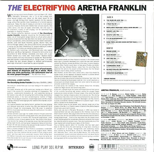 Aretha Franklin ‎– The Electrifying Aretha Franklin