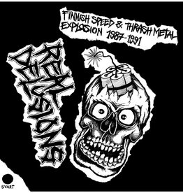 Various – Real Delusions-Finnish Speed & Thrash Metal Explosion 1987-1991
