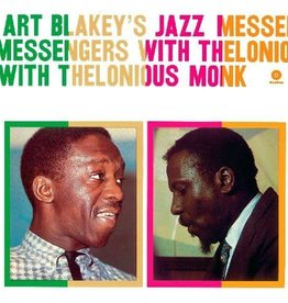 Art Blakey's Jazz Messengers With Thelonious Monk ‎– Art Blakey's Jazz Messengers With Thelonious Monk