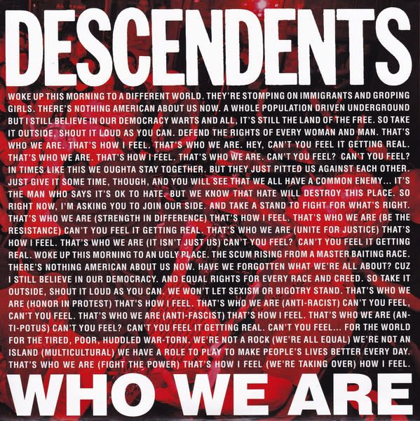 Descendents - Who We Are