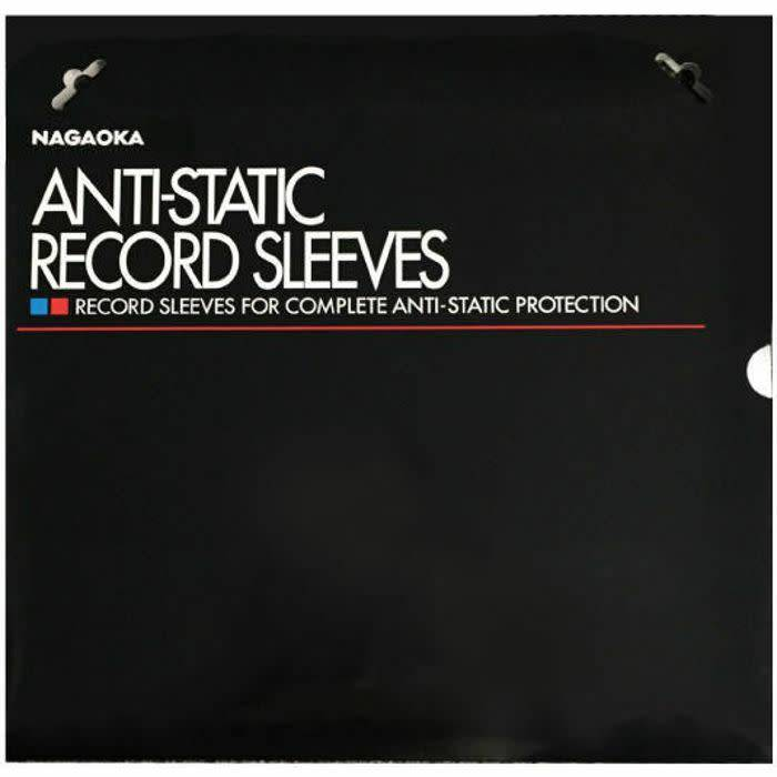 Nagaoka No. 102 Anti-Static Record Sleeves: Pack of 50