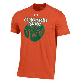 UNDER ARMOUR OLD RAM ORANGE OUT TEE