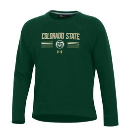 UNDER ARMOUR LADIES UA COLO ST TREADBORNE FLEECE CREW