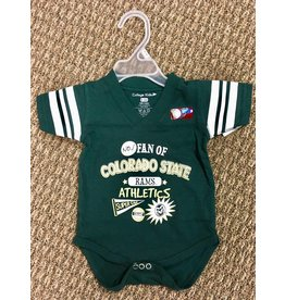 CSU FAN QUARTERBACK BODYSUIT