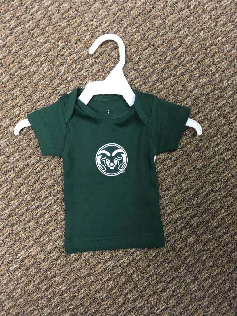 RAM LOGO LAP SHOULDER T-SHIRT INFANT