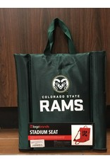 COLORADO STATE STADIUM SEAT WITH BACK