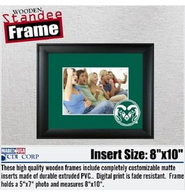 COLORADO STATE RAM WOODEN FRAME
