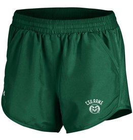 UNDER ARMOUR X LADIES UA CSU RAMS RUN SHORT