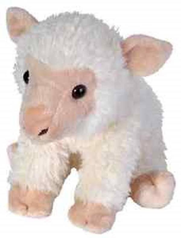 """STUFFED WHITE BABY SHEEP 12"""""""
