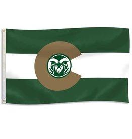 """RAM LOGO """"COLORADO"""" FLAG- DURAWAVE"""