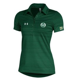 UNDER ARMOUR LADIES UA RAM LOGO TRAJECTORY POLO