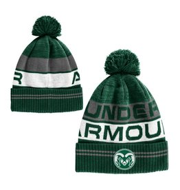UNDER ARMOUR UA CSU RAMS RETRO POM BEANIE