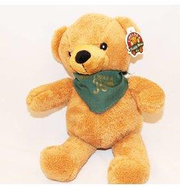 WISH I WAS A RAM BEAR BANDANA-CUDDLES BROWN BEAR