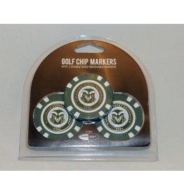 CSU GOLF CHIPS- 3PK