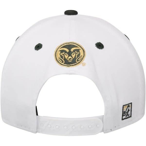 RAMS WHITE GAME BAR HAT