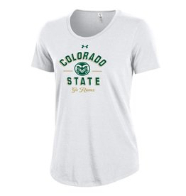 UNDER ARMOUR UA WOMEN'S COLO ST CHARGED COTTON TEE