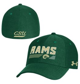 UNDER ARMOUR UA BLITZING COLO ST RAMS HAT- STRETCH FIT