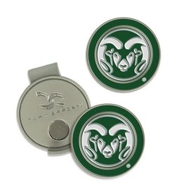CSU RAMS HAT CLIP AND BALL MARKER- GOLF