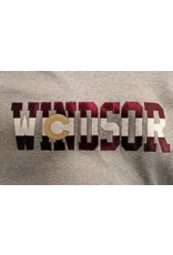 WINDSOR CO TACKLE TWILL LETTERS HOODY