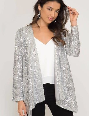 Silver Sparkle Jacket