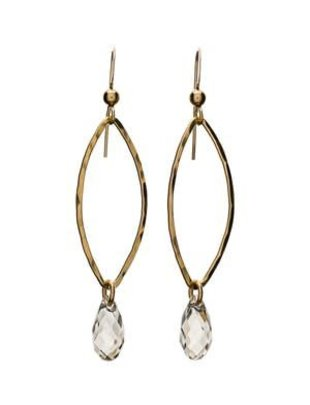 Kendra Kist Marquise Crystal Bottom Drop Earring-SS/SSH
