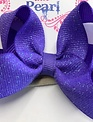 Blondie and Pearl Dk Orchid Dazzle Baby Headband
