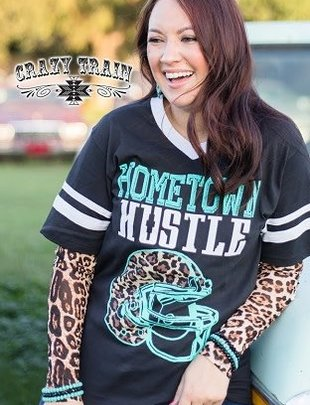 Crazy Train Layer Your Leopard Mesh Shirt