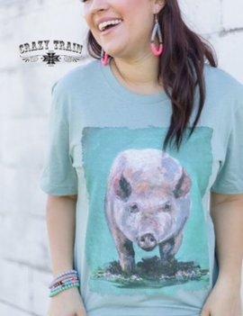 Divine Swine* Pig Tee