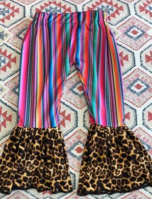 Serape Leopard Bells