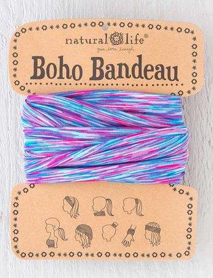 Aqua Turquoise Spandex Boho Bandeau