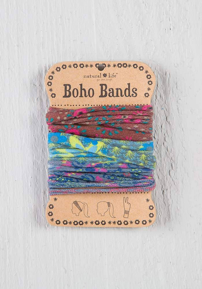 Boho Bands Brown/Green/Grey