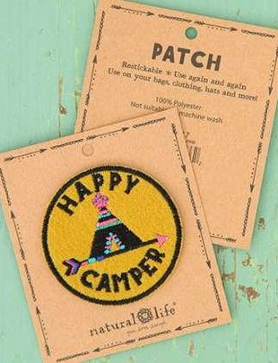 Happy Camper Teepee Patch