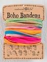 Hot Pink Rainbow Boho Bandeau