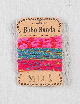 Pink Polka Dot Boho Bands