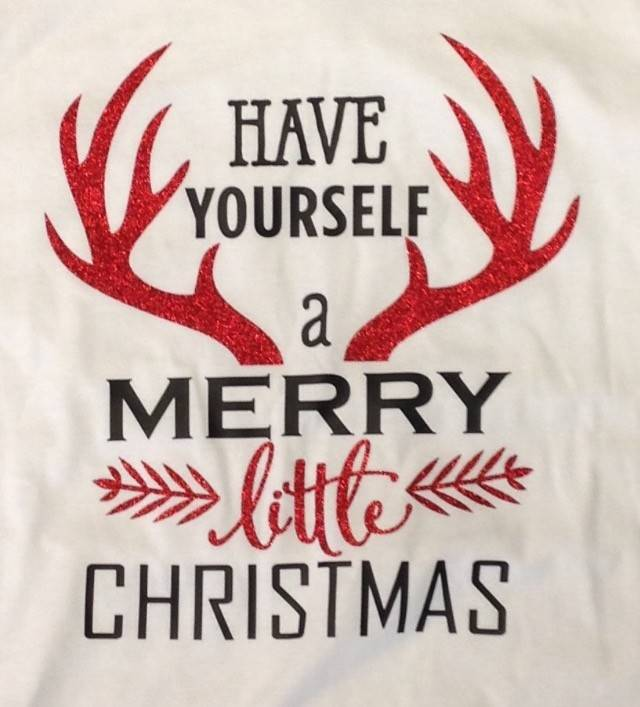 Antler Have Yourself a Merry Little Christmas