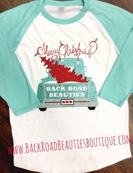 Back Road Beauties Christmas BBT Turq