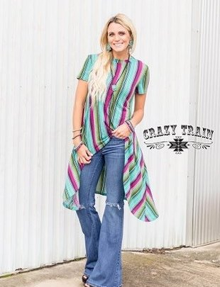 Crazy Train Telluride Tunic