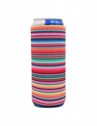 Lit Can Coolers Serape Slim Can Coolers
