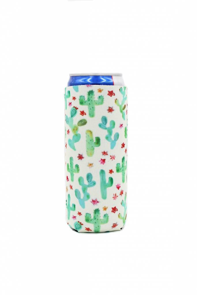 Lit Can Coolers Cactus Slim Can Cooler