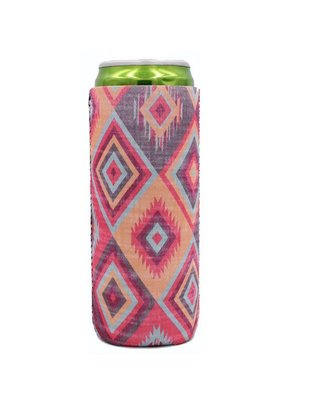 Lit Can Coolers Aztec Slim Can Cooler