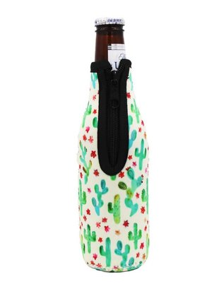 Lit Can Coolers Cactus Bottle Neck Cooler