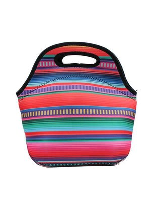 Lit Can Coolers Serape Lunch Tote