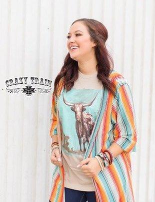 Crazy Train Harvest Colors Kimono