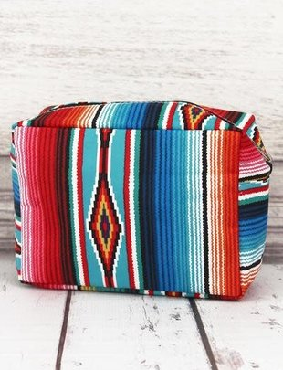 SOUTHWEST SERAPE COSMETIC CASE