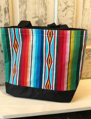 SOUTHWEST SERAPE INSULATED BAG