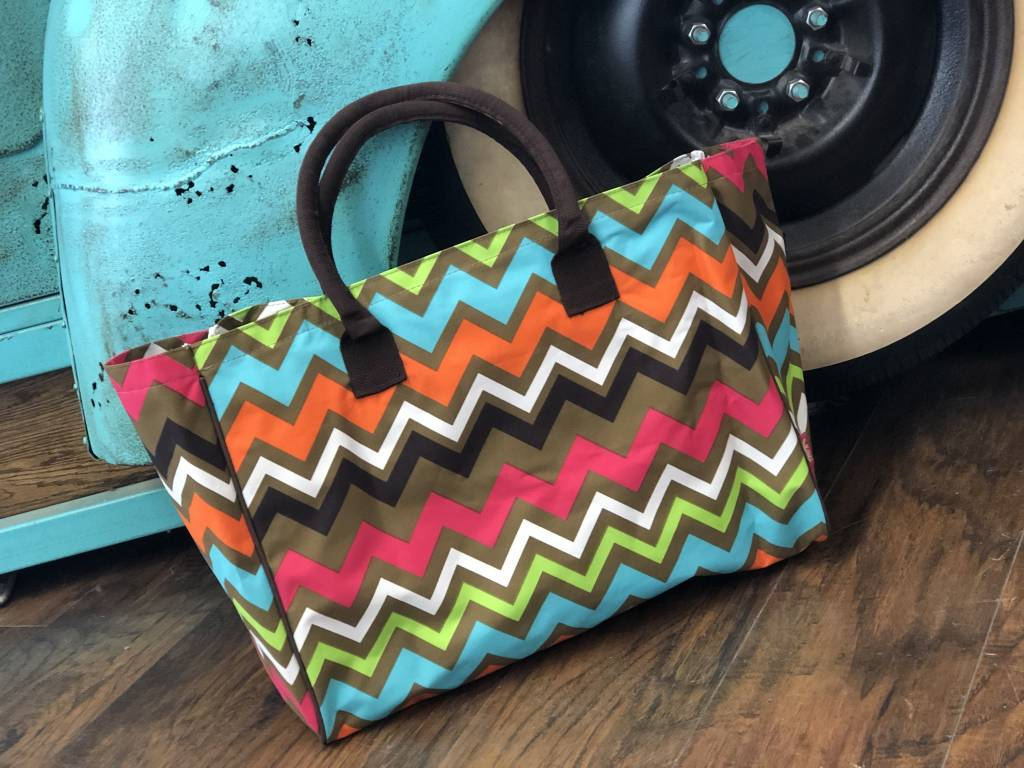 Bright Aztec Carry On Bag