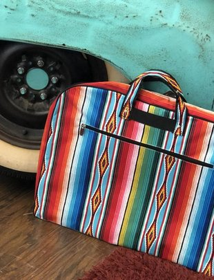 SERAPE BLACK GARMENT BAG