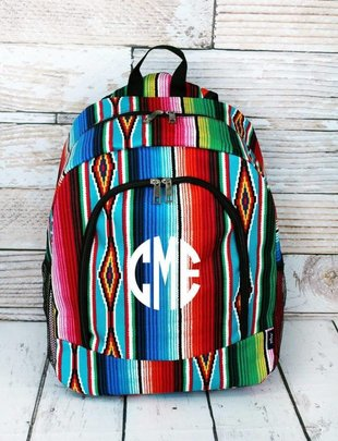 SOUTHWEST SERAPE LARGE BACKPACK