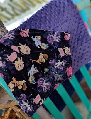 My Little Pony Purple Blanket